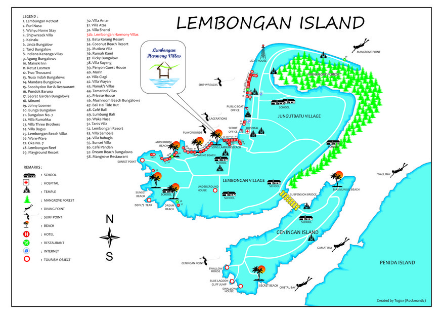 Villa Lembongan Harmony Lembongan 1 2 Bedrooms From 110
